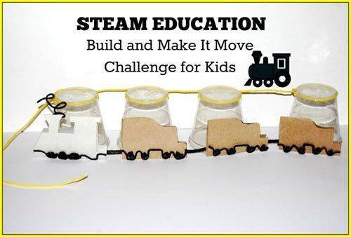 Make It Move Challenge Train