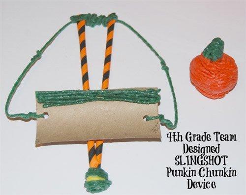 Slingshot Punkin Chunkin STEM Challenge