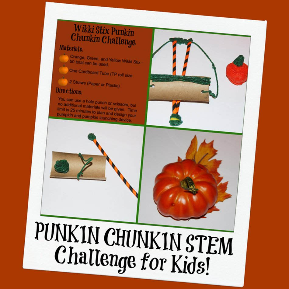 Fall STEM for Kids:  Punkin Chunkin Engineering