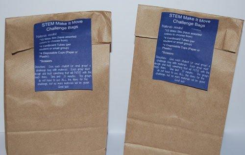 Wikki Stix STEM Make It Move Challenge Bags