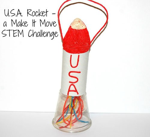 Wikki Stix STEM Make It Move Challenge Rocket