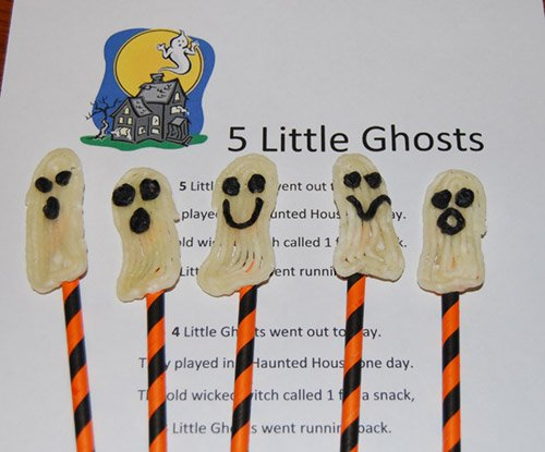 5 Little Ghosts