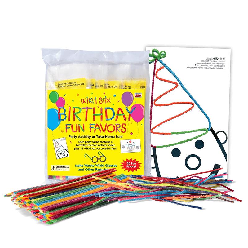 Birthday Fun Favors