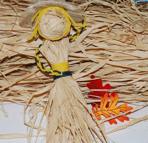 Corn Husk Doll Construction