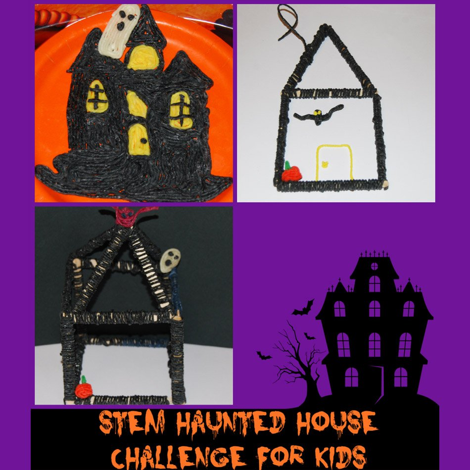 STEM Education for Kids:  Haunted House Engineering Challenge