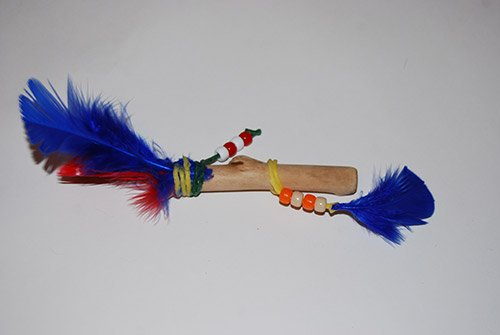 Third Grade Talking Feather Stick Sample Design