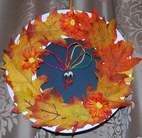 Wreath Craft Idea for Kids