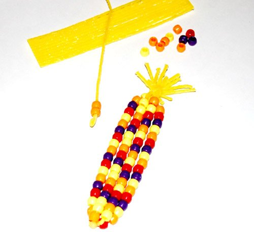 Indian Corn Thanksgiving Crafts for Kids