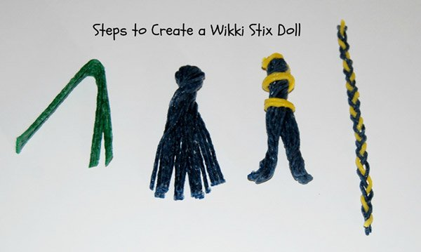 Steps to Create Wikki Stix Puppets