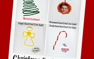 Wikki Stix Christmas Card Crafts for Kids of All Ages!
