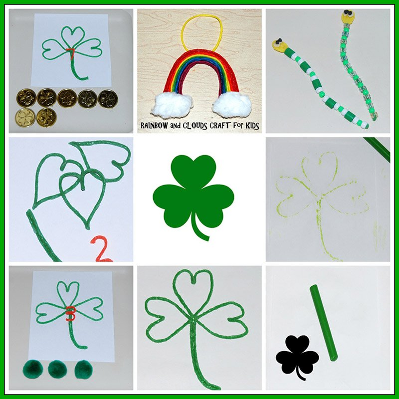 Wikki Stix St. Patrick's Day FUN for Kid