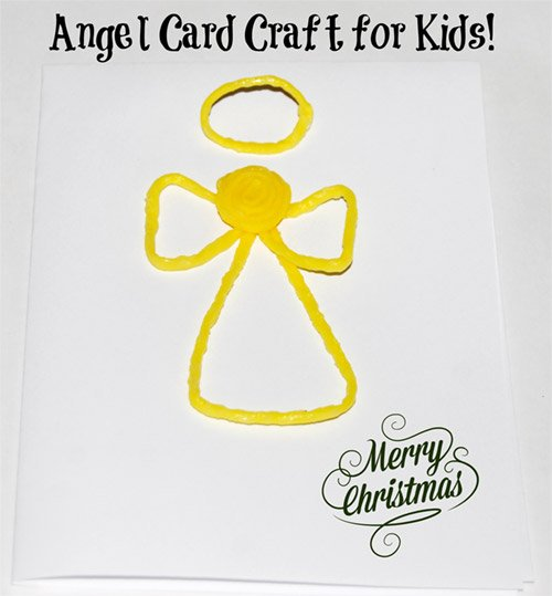 Angel Ornament Craft for Kids!