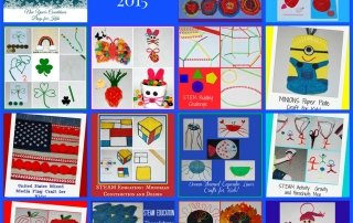 Best of Wikki Stix Crafts, STEM, and Learning Activities for Kids from 2015!