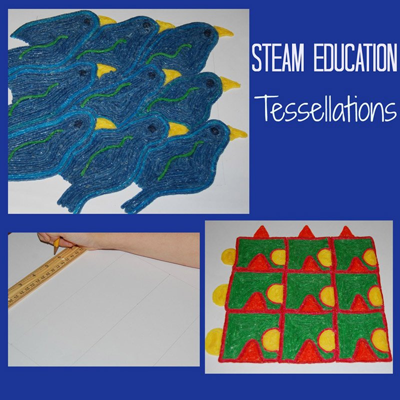 Wikki Stix STEAM Education – Creating Tessellations
