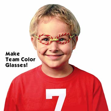 Make Team Color Glasses
