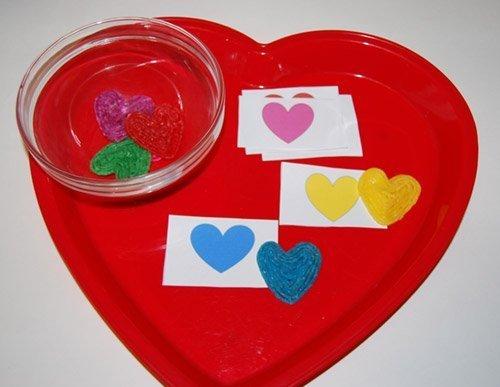 Wikki Stix Hearts Color Games