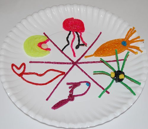 Pout-Pout Fish Paper Plate Sequencing Craft for Kids