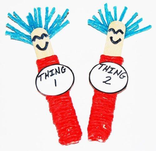 Wikki Stix Thing 1 and Thing 2