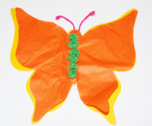 Wikki Stix Butterfly Craft