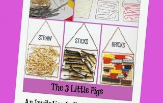 The Three Little Pigs: Read, Play, and Create!