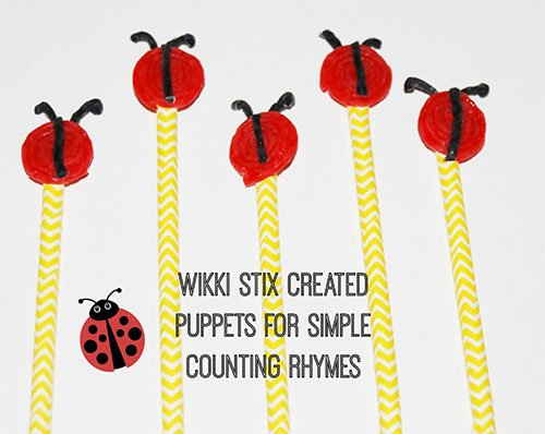 Counting Stick Puppets