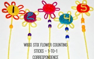 Wikki Stix Counting Sticks