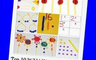 Top 10 Wikki Stix Playful Math Activities for Preschool