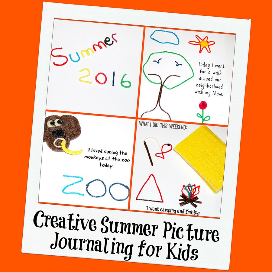 Get Creative with Summer Picture Journaling for Kids!