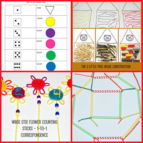 Wikki Stix Educational Ideas for Playful Learning All Summer Long!