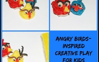 Angry Birds-Inspired Crafts for Kids!