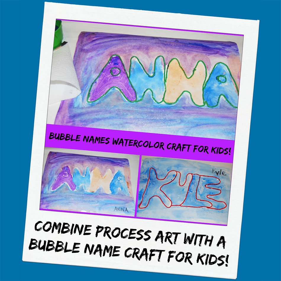 Bubble-Names-Watercolor-Craft-for-Kids