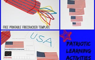 Patriotic Playful Learning Activities for Young Kids!