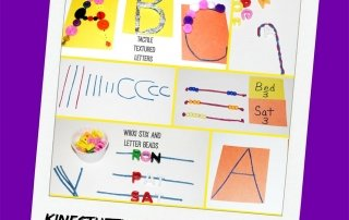 Kinesthetic ABC and Word Play Activities for Young Kids!