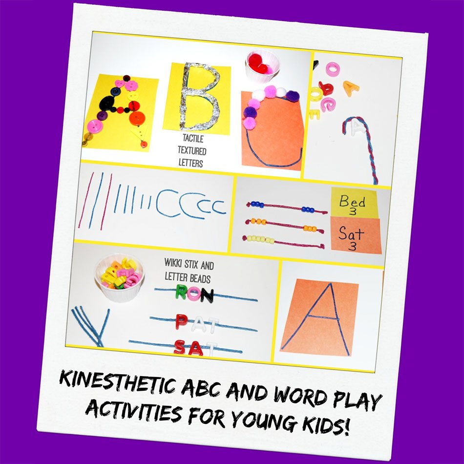 Using Wikki Stix for Kinesthetic Learners