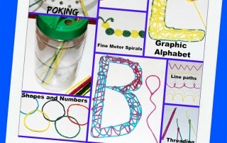 Preparing for Kindergarten with Fine Motor Play Ideas!