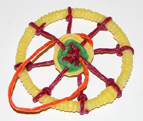 Weaving a Dreamcatcher with Wikki-Stix