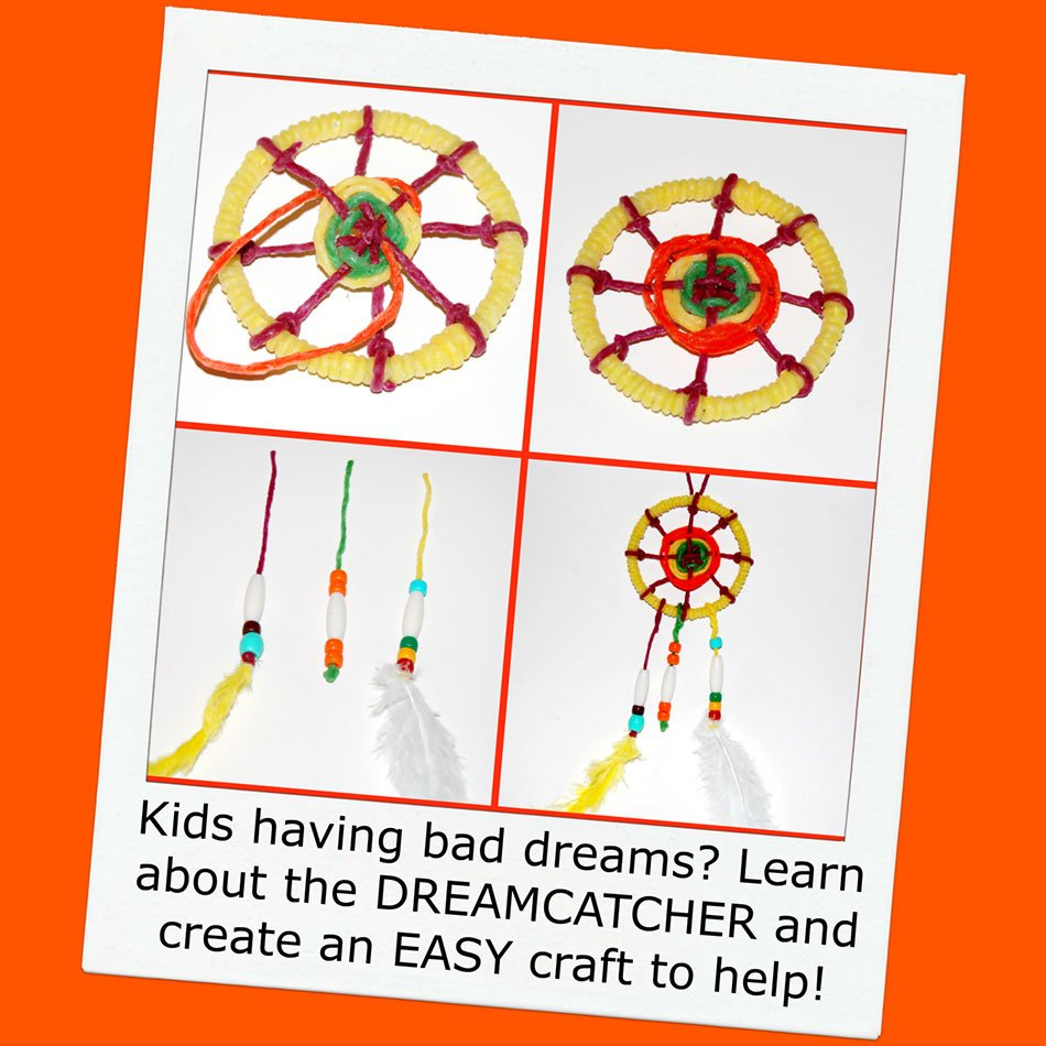 Help Ease Bad Dreams with a Woven Dreamcatcher Craft!