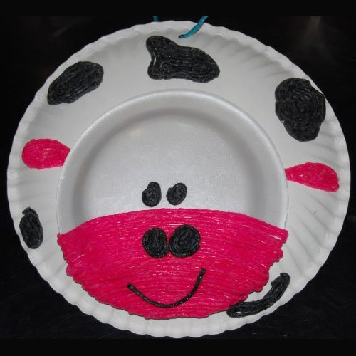 Farm Themed Cow Craft
