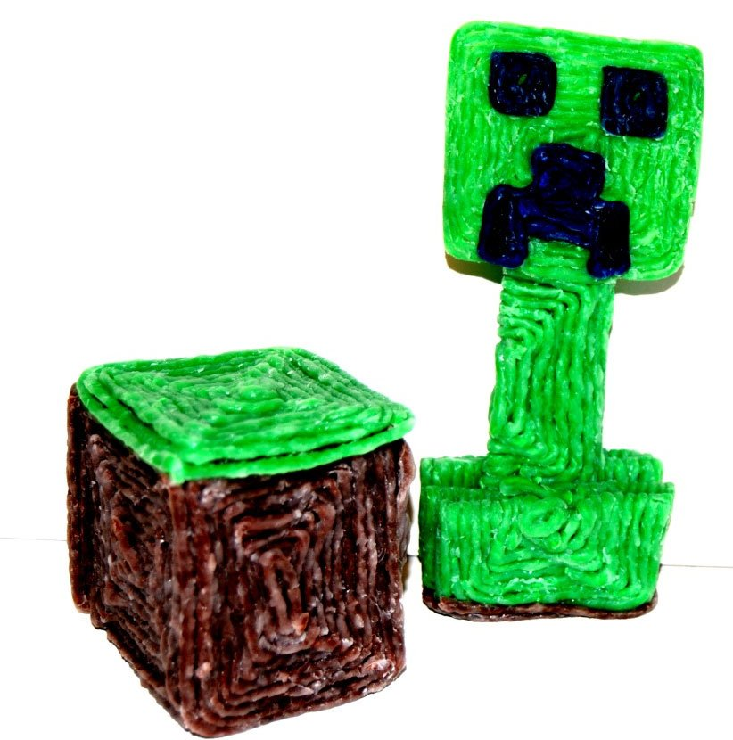 Minecraft Grass Blocks