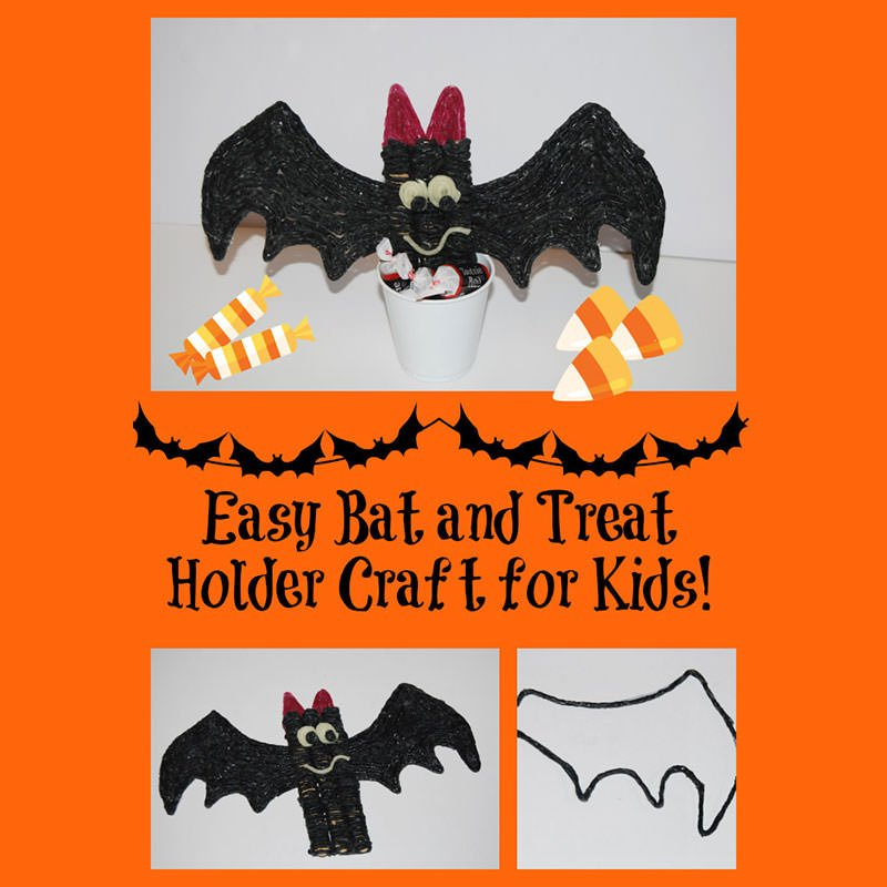 Easy Bat and Treat Holder!