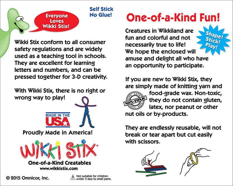 Wikki Stix Information