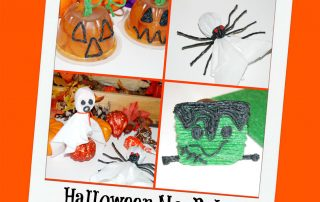 Halloween Party No-Bake Food Crafts for Kids!