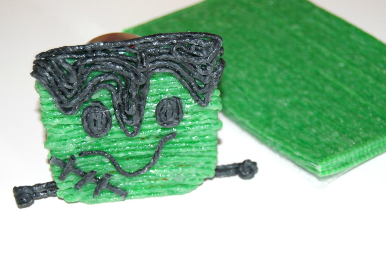 Halloween Frankenstein Food Craft for Kids