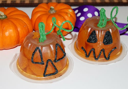 Jack-O-Lantern Food Crafts for Kids!