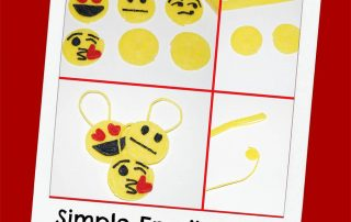 Wikki Stix Simple Emoji Crafts for Kids!