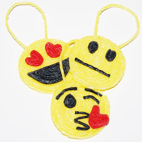 Emoji Crafts with Hangers