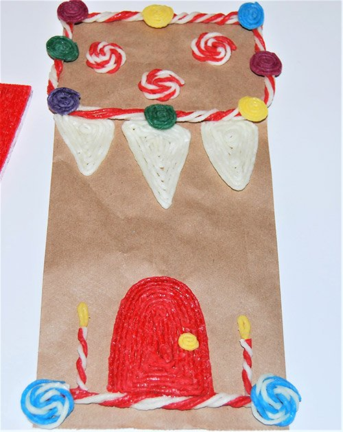 Gingerbread House Craft for Kids
