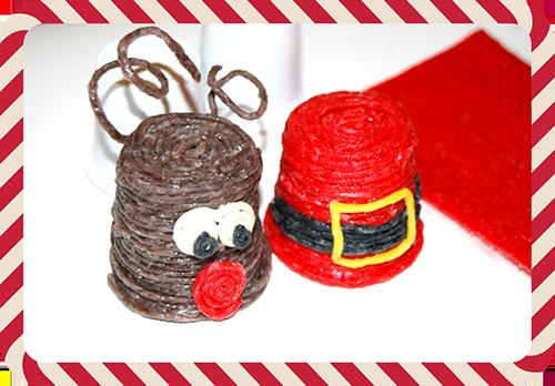 Reindeer and Santa Crafts for kids!