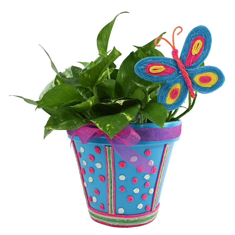 Create & Decorate Flower Pot
