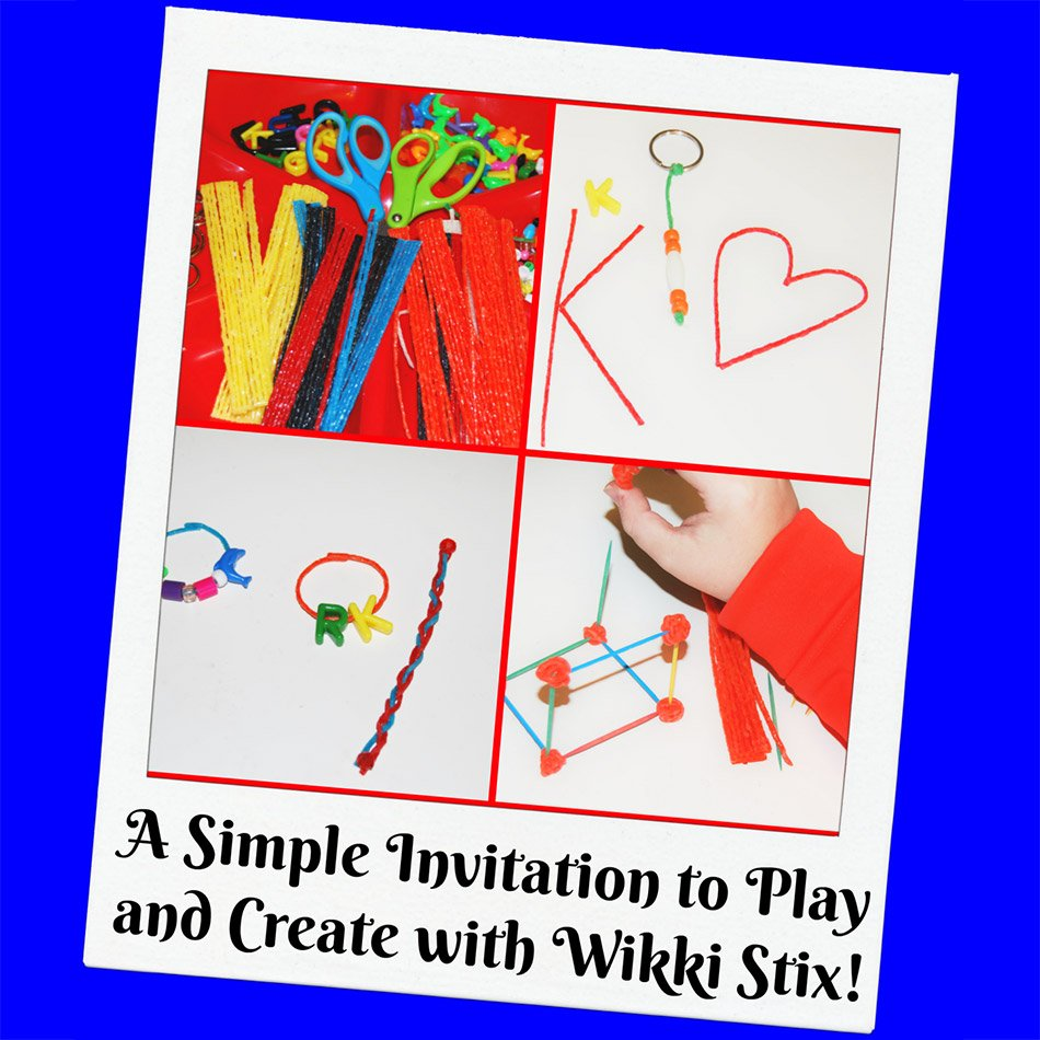 Play and Create with Wikki Stix!